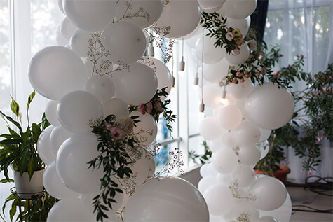 balloon garlands saskatoon - Victorian Diamond Events